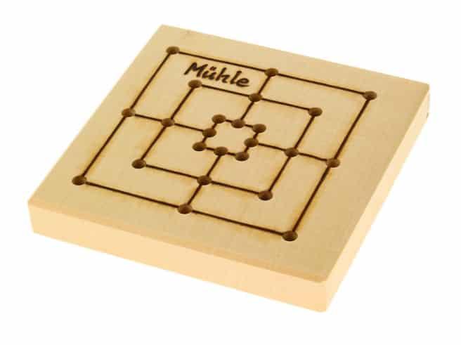 Mühle / Würfelspiel für die Reise
