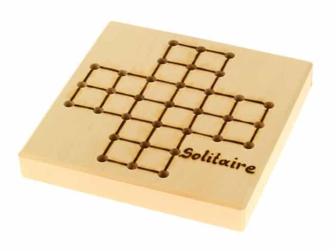 Solitaire/Würfelspiel für die Reise