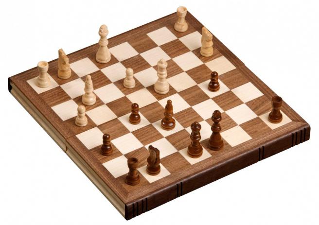 Schach in Buchform