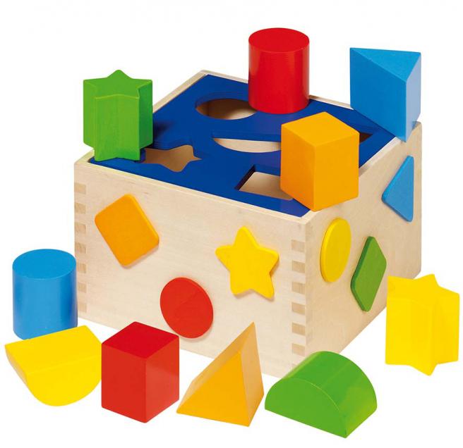 Sortierbox bunt