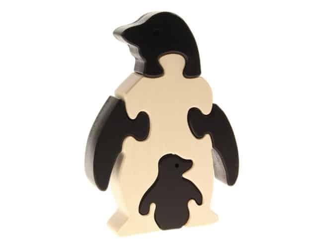 Tierpuzzle Pinguin