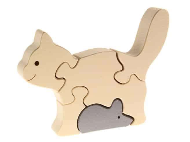 Tierpuzzle Katze