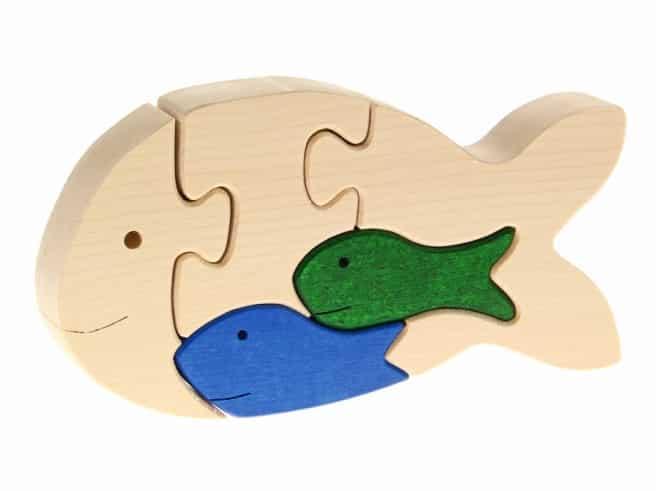 Tierpuzzle Fisch
