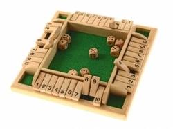 4-er Klappenspiel (shut the box)