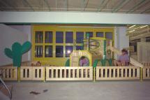Spielecke Möbel Greif in Innsbruck (eingerichtet von uns 1989)